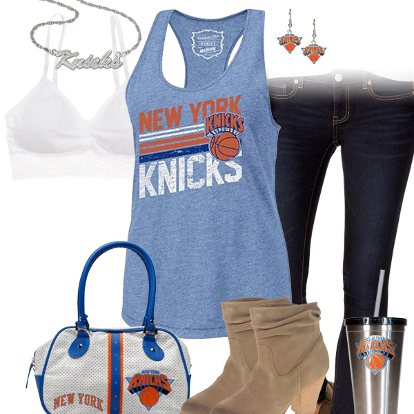 New York Knicks Tank Top Outfit