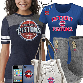 Detroit Pistons Fan Gear