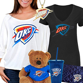 Oklahoma City Thunder Fan Gear