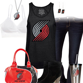Trendy Chill Trail Blazers Fan