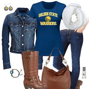 Golden State Warriors Blue Jean Baby