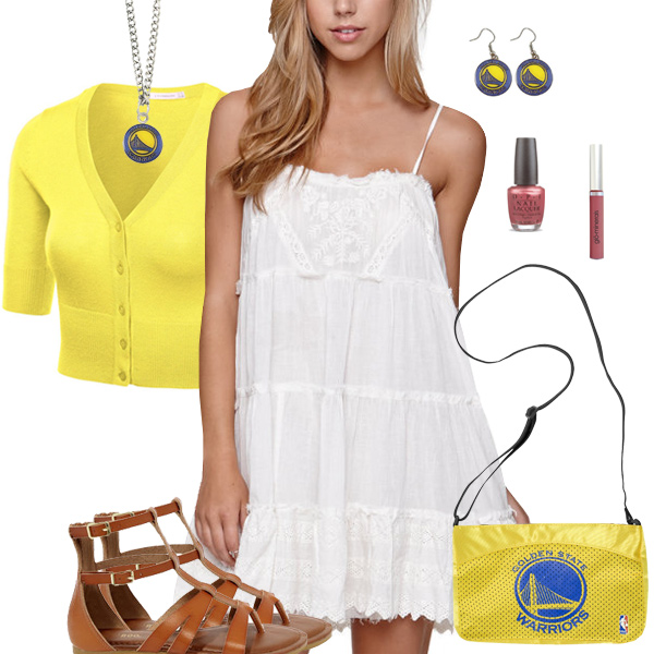 Golden State Warriors Dress Outfit