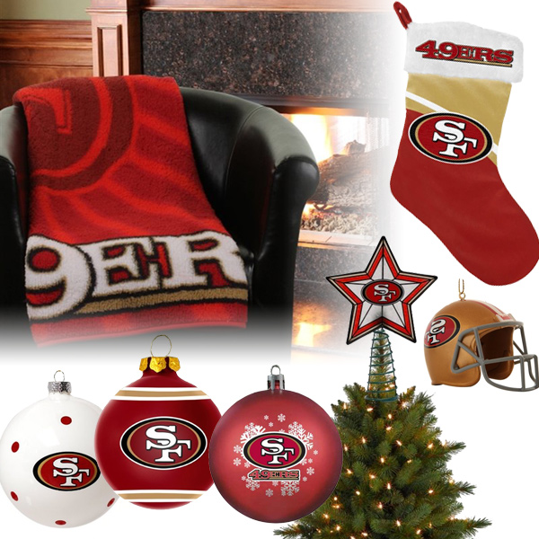 San Francisco 49ers Christmas Ornaments