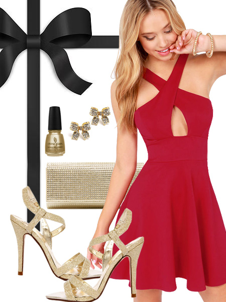 San Francisco 49ers Inspired Dress
