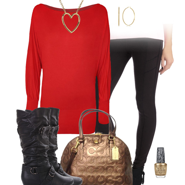 San Francisco 49ers Inspired Leggings Outfit