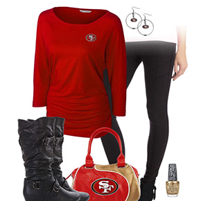 San Francisco 49ers Leggings Love