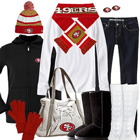 San Francisco 49ers Winter Wonder Fan