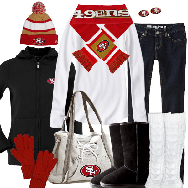 San Francisco 49ers Inspired Winter Fashion