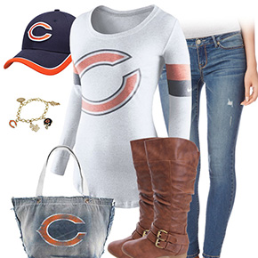 Chicago Bears Casual Cutie