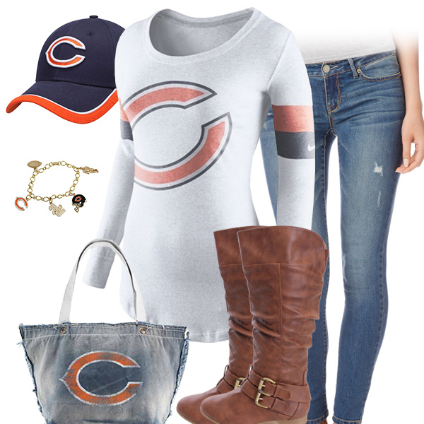 Chicago Bears Inspired Outfit