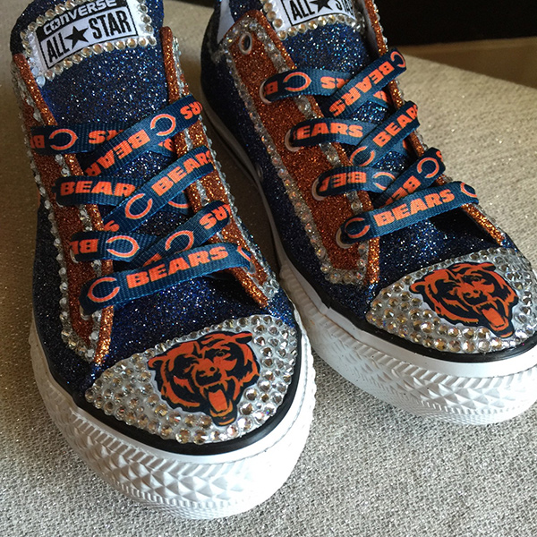 Chicago Bears Converse Shoes