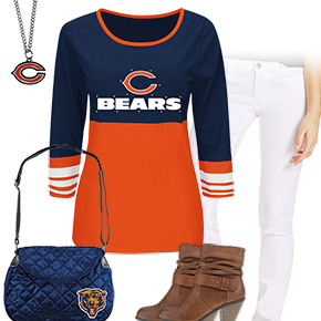 Chicago Bears Kickoff Cute