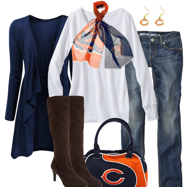 Chicago Bears Inspired Fall Fashion