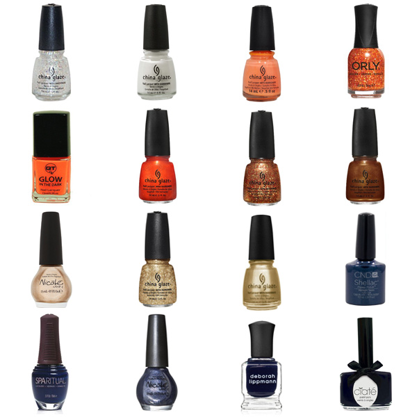Chicago Bears Nail Polish Colors