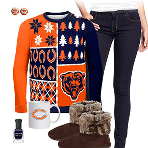 Chicago Bears Ugly Sweater Love