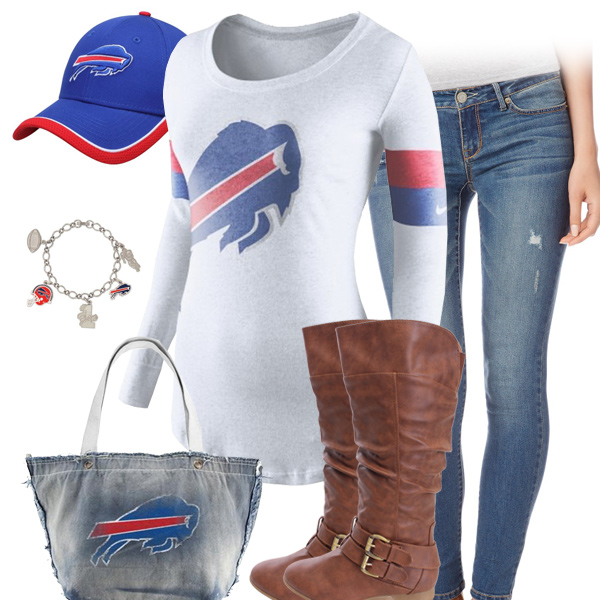 Buffalo Bills Inspired Outfit