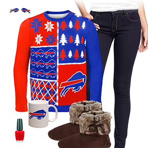 Buffalo Bills Ugly Sweater Love