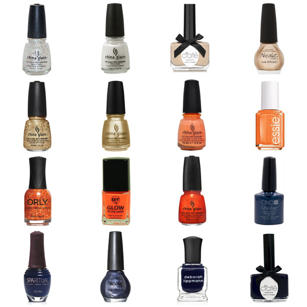 Denver Broncos Nail Polish Colors