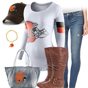 Cleveland Browns Casual Cutie