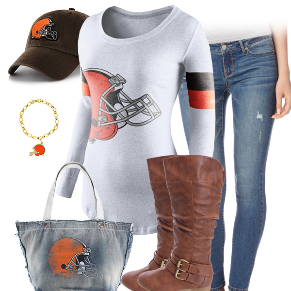 Cleveland Browns Inspired Outfit
