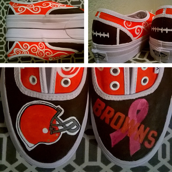 Cleveland Browns Designed Sneakers