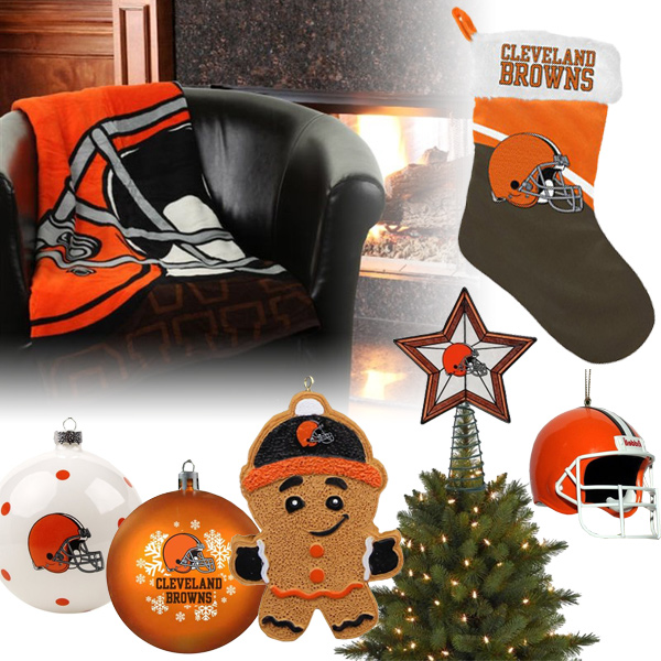 Cleveland Browns Christmas Ornaments