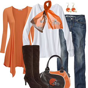 Cleveland Browns Fall Fashionista
