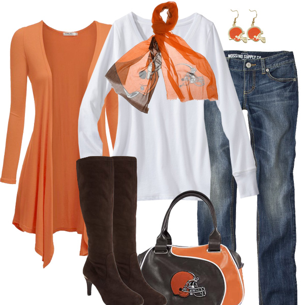 Cleveland Browns Inspired Fall Fashion