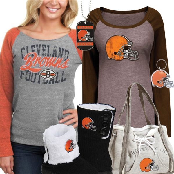 Cute Browns Fan Gear