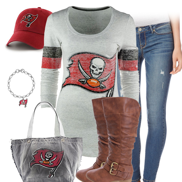 Tampa Bay Buccaneers Inspired Outfit