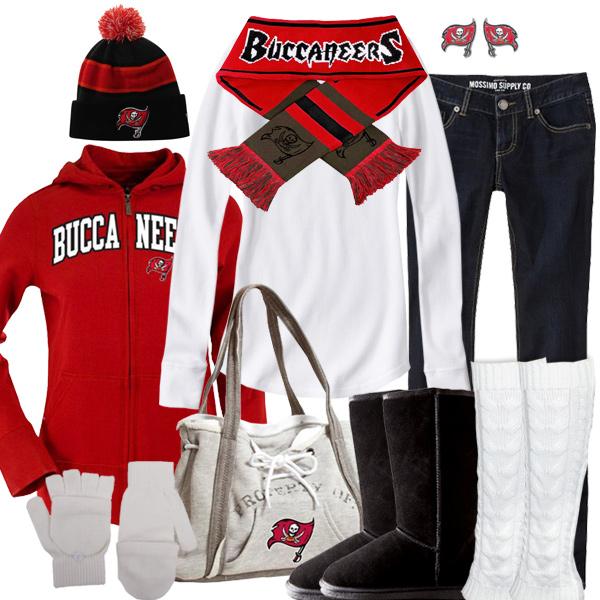 262b02cda Tampa Bay Buccaneers Inspired Winter Fashion