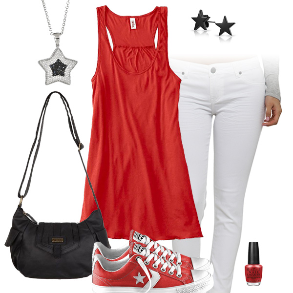 Arizona Cardinals Outfit With Converse