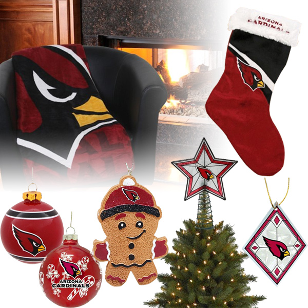 Arizona Cardinals Christmas Ornaments