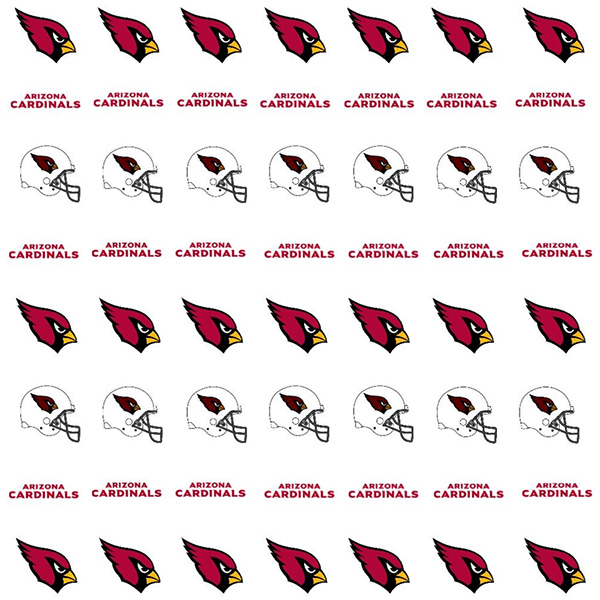 Arizona Cardinals Nail Stickers