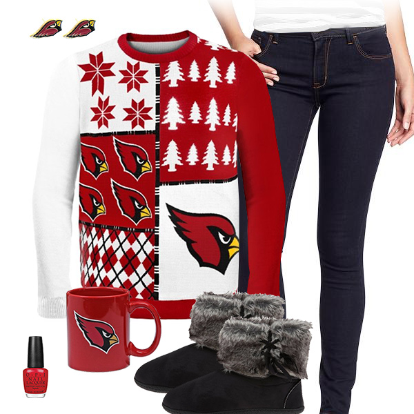 Arizona Cardinals Sweater Outfit