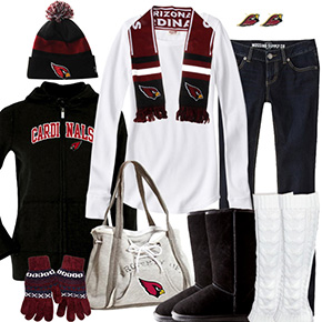 Arizona Cardinals Winter Wonder Fan