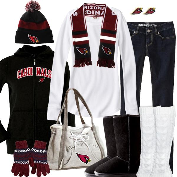 Arizona Cardinals Winter Fashion, Cardinals Beanie, Cardinals Hoodie
