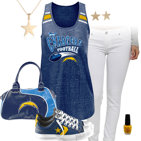 Cute San Diego Chargers Tank Top San Diego Chargers
