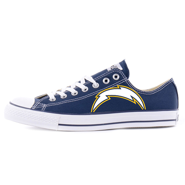 San Diego Chargers Converse Shoes