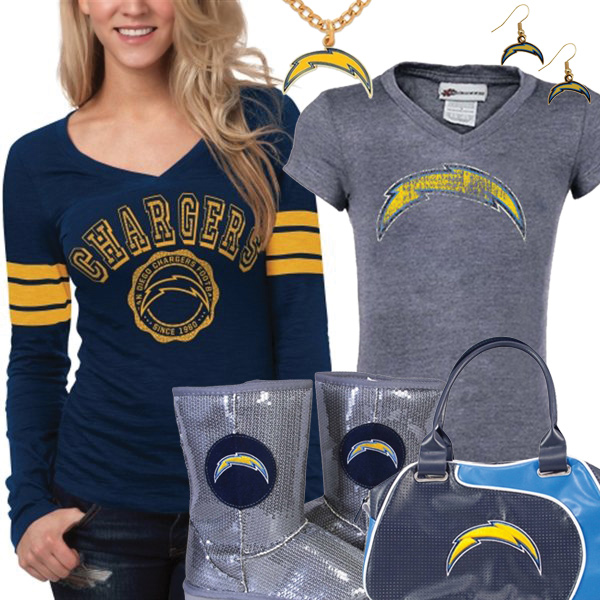 Cute Chargers Fan Gear