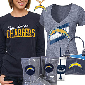 San Diego Chargers Fan Gear