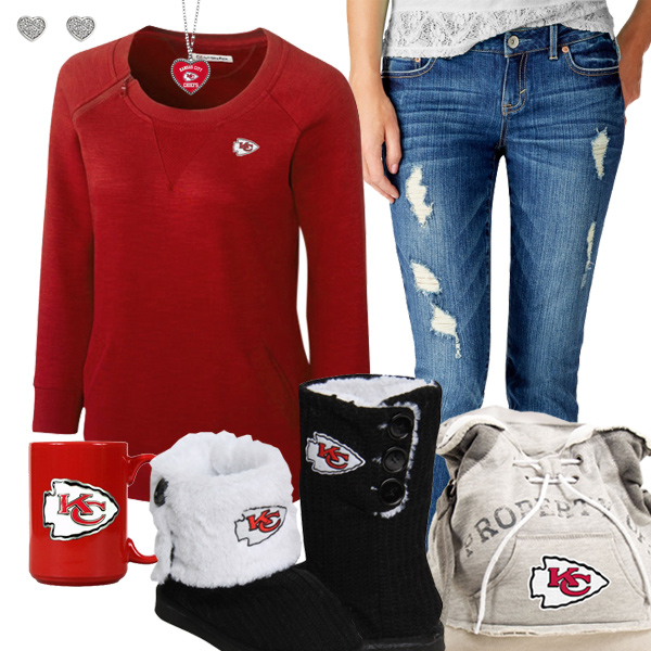 Cute Chiefs Fan Outfit