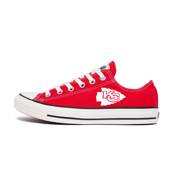 Kansas City Chiefs Converse Shoes