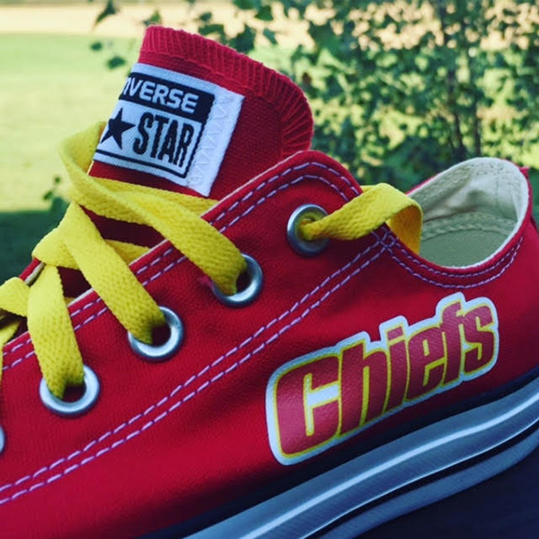 Kansas City Chiefs Converse Sneakers