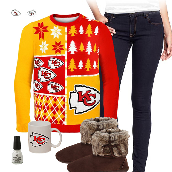 Kansas City Chiefs Sweater Outfit