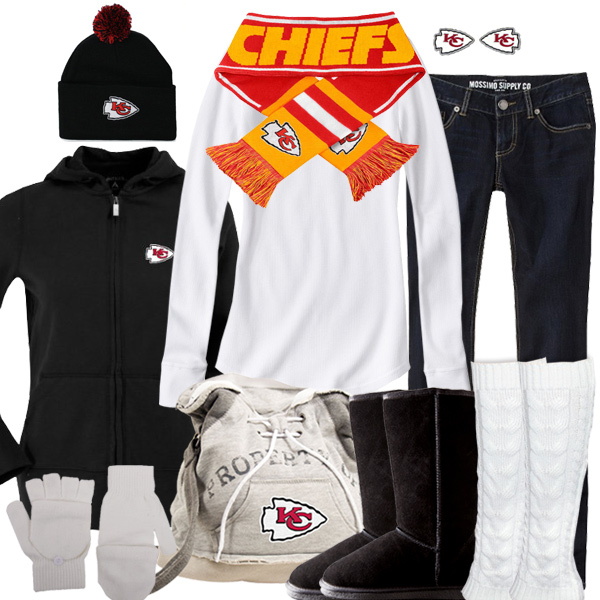 Kansas City Chiefs Inspired Winter Fashion