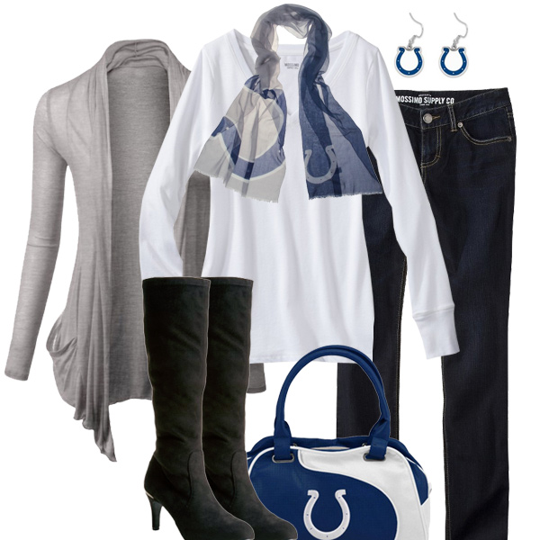 Indianapolis Colts Inspired Fall Fashion