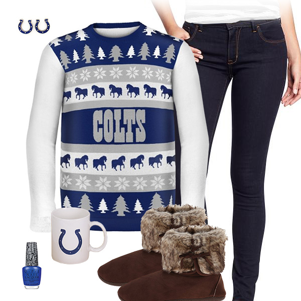 Indianapolis Colts Sweater Outfit
