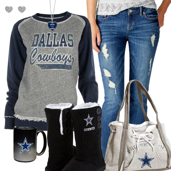 Cute Cowboys Fan Outfit