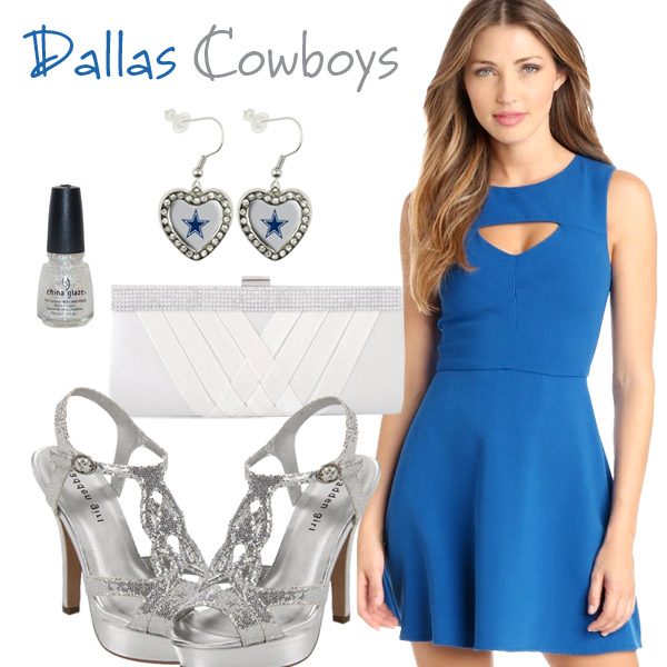 Dallas Cowboys Inspired Date Look